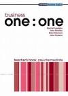 Business One:One Pre-Intermediate Teacher's Book - Rachel Appleby, John Bradley, Jane Hudson, Brian Brennan