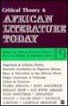 Critical Theory and African Literature Today: A Review - Eldred Durosimi Jones, Eldred Durosimi Jones, Eustace Palmer