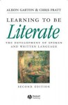 Learning to Be Literate - Alison F. Garton
