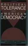 Political Tolerance and American Democracy - John L. Sullivan, George E. Marcus, James Piereson