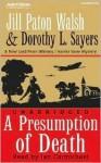 A Presumption of Death (Audio) - Jill Paton Walsh, Edward Petherbridge