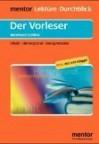 Der Vorleser. Diverse Umschlagfarben, Unsortiert. (Lernmaterialien) - Bernhard Schlink