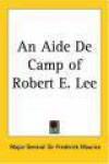 An Aide De Camp Of Life - Robert E. Lee