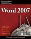 Microsoft Word 2007 Bible [With CD-ROM] - Herb Tyson