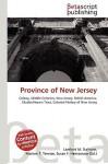Province of New Jersey - Lambert M. Surhone, VDM Publishing, Susan F. Marseken