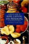 Complete Guide to Home Canning and Preserving (Second Revised Edition) - Department Of Agriculture