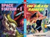 The Galaxy Raiders/Space Station #1 (Armchair Fiction Double Novels) - William McGivern, Frank Belknap Long