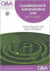 Q&A Constitutional & Administrative Law 2006-2007 - Helen Fenwick, Gavin Phillipson