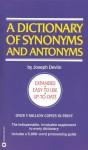 Dictionary of Synonyms & Antonyms - Joseph Devlin