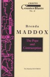 The Pope and Contraception: The Diabolical Doctrine (Counterblasts #18) - Brenda Maddox, Maddox