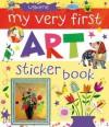 My Very First Art Sticker Book - Rosie Dickins