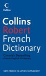 Collins Robert French Dictionary English Cover - Collins