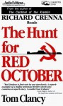 The Hunt for Red October - Tom Clancy, Richard Crenna