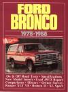 Ford Bronco, 1978-88 - R.M. Clarke