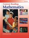 Math Workbooks: Content Reading: Mathematics, Level D - 4th Grade - continental press