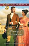 Marriage of Inconvenience (Love Inspired Historical) - Cheryl Bolen