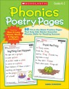 Phonics Poetry Pages: 50 Fill-in-the-Blank Practice Pages That Help Kids Master Essential Phonics Skills for Reading Success - Kama Einhorn
