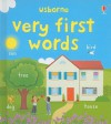 Very First Words - Felicity Brooks