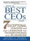 What the Best Ceos Know - Jeffrey Krames