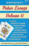 Poker Essays, Volume II - Mason Malmuth, Paula Cizmar