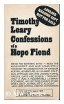 Confessions Of A Hope Fiend - Timothy Leary