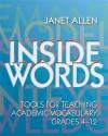 Inside Words - Janet Allen