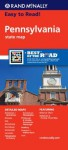 Rand Mcnally Easy To Read: Pennsylvania State Map - Rand McNally