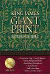 Giant Print Reference Bible-KJV - Anonymous