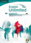 English Unlimited For Spanish Speakers Elementary Self Study Pack (Workbook With Dvd Rom And Audio Cd) - Maggie Baigent, Chris Cavey, Nick Robinson