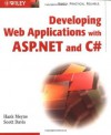 Developing Web Applications with ASP.Net and C# - Hank Meyne, Scott Davis