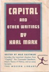 Capital, The Communist Manifesto, and Other Writings - Karl Marx, Max Eastman, Vladimir Lenin