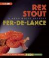 Fer-de-Lance: A Nero Wolfe Mystery - Rex Stout, Michael Prichard
