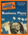 The Complete Idiot's Guide to Business Plans, 2nd Edition - Gwen Moran, Sue Johnson