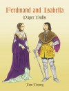 Ferdinand and Isabella Paper Dolls - Tom Tierney