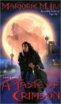 A Taste of Crimson (Crimson City #2) - Marjorie M. Liu