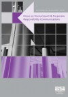 Environmental Management Report: Focus On Environmental And Corporate Responsibility Communications - Jane Taylor
