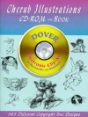 Cherub Illustrations CD-ROM and Book - Dover Publications Inc.