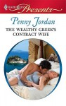 Mills & Boon : The Wealthy Greek's Contract Wife (Needed: The World's Most Eligible Billionaires) - Penny Jordan