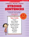 Overhead Writing Lessons: Strong Sentences: Standards-Based Mini-Lessons * Overheads * Reproducibles - Carol Rawlings Miller, Sarah Glasscock