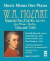 Mozart Quartet No. 2 in E-Flat, KV.493 for Piano, Violin, Viola and 'Cello [With CD (Audio)] - Wolfgang Amadeus Mozart, Emanuel Vardi, Alan Shulman