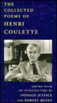 Collected Poems of Coulette (P) - Henri Coulette, Robert Mezey