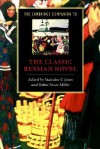 The Cambridge Companion to the Classic Russian Novel - Malcolm V. Jones