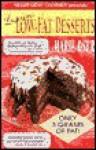 Luscious Low-Fat Desserts - Marie Oser, David Joachim, Bonita Fladger-Wadell