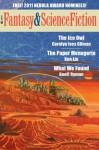 Fantasy & Science Fiction, Stories on the Nebula Ballot 2011 - Gordon Van Gelder, Carolyn Ives Gilman, Geoff Ryman, Ken Liu