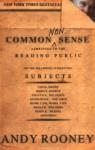 Common Nonsense - Andy Rooney