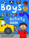 Boys' Sticker Activity Book - Roger Priddy
