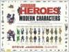 Cardboard Heroes Modern Characters - Steve Jackson Games
