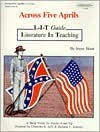 Across Five Aprils: L-I-T Guides - Charlotte S. Jaffe, Barbara Roberts