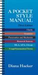 A Pocket Style Manual - Diana Hacker