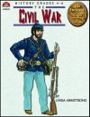 Civil War - Book and PowerPoint CD - Linda Armstrong